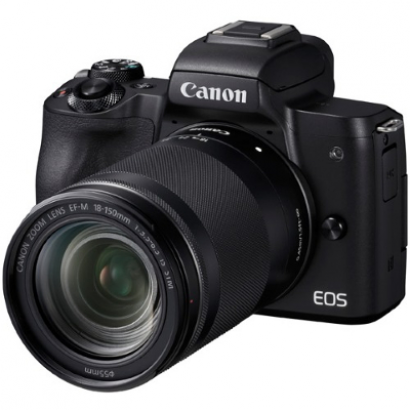 Системный фотоаппарат Canon EOS M50 Kit Black